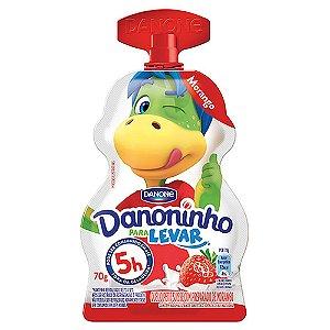 IOGURTE DANONINHO PARA LEVAR MORANGO 70GR