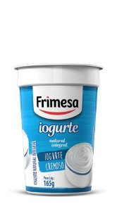 IOGURTE FRIMESA NATURAL INTEGRAL COPO  165GR