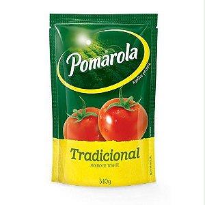 MOLHO DE TOMATE POMAROLA TRADICIONAL 340GR SACHÊ