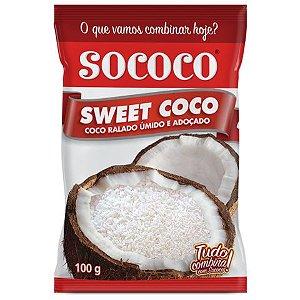 COCO RALADO SWEET FLOCO 100GR ADOÇADO