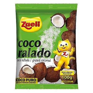 COCO RALADO ZAELI 100GR PURO