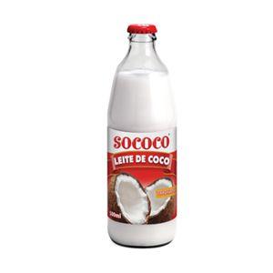 LEITE DE COCO SOCOCO 500ML VIDRO