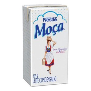 LEITE CONDENSADO MOÇA 395GR CAIXA