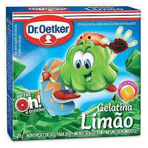 GELATINA OETKER LIMÃO 20GR