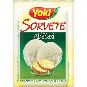 PÓ PARA SORVETE YOKI 150GR ABACAXI