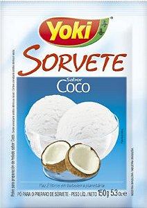 PÓ PARA SORVETE YOKI 150GR COCO