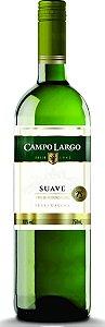 VINHO CAMPO LARGO 750ML BRANCO SUAVE