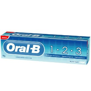 CREME DENTAL ORAL B 70GR 1.2.3 ANTI CÁRIES