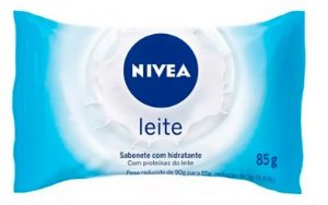 SABONETE NIVEA 85GR HIDRATANTE LEITE