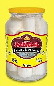 PALMITO DE PUPUNHA JANDEL 300G  TOLETE