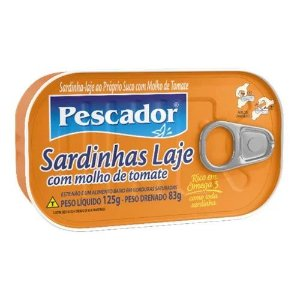 SARDINHA PESCADOR 125G MOLHO DE TOMATE