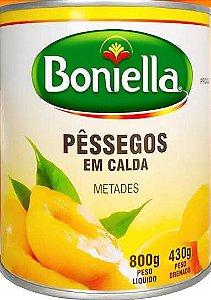 PÊSSEGO EM CALDA BONIELLA METADES