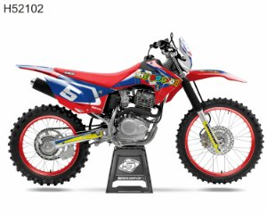 KIT GRÁFICO CRF 230 F 2015 A 2020 - THE DOCTOR - H52102