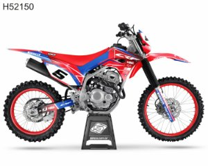 KIT GRÁFICO CRF 250 F 2019 A 2022 - HRC PERSON NEW 2021 - H52150
