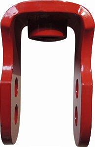 Alongador De Suspensão Traseira Crf 230 / Crf 250f Vermelho