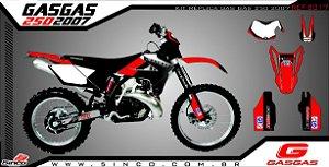 Kit Adesivo 3M KIT REPLICA GAS GAS 250 2007
