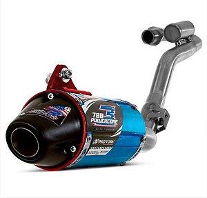 Escape Completo Powercore 3 CRF 230 Pro Tork - Azul