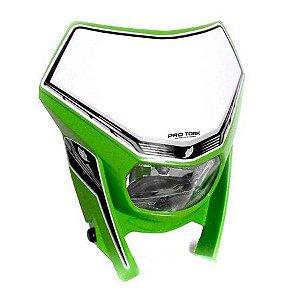 Carenagem de farol Pro Tork sem  Lâmpada -  Verde