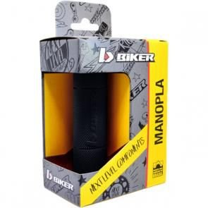 Manopla Biker Crf 230 Diamond Grip - Preto