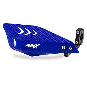 Protetor De Mão Carbon Amx Azul