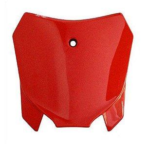 Number Plate Frontal Avtec Universal Crf 230 - Vermelho