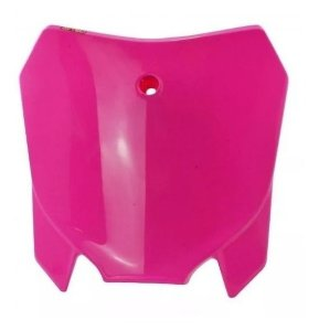 Number Plate Frontal Avtec Universal Crf 230 - Rosa
