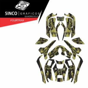 Kit Honda Fourtrax 420 Camuflado