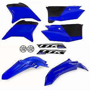 Kit Plástico  TTR 230 Azul