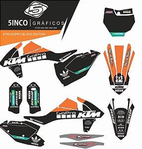 Kit Adesivo 3M  GoPro Black Edition KTM 2017