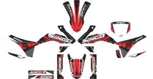 Kit Gráfico 3M CRF 230 BLACK NOVEMBER
