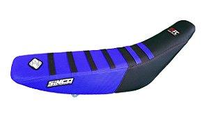 Capa de Banco 5FC - Preta e Azul