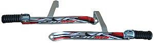 Suporte De Pedaleira Traseira Crf 230 - Fácil Instalação