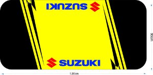 Tapete para motos Suzuki