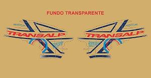 Kit Faixa Adesivo VINIL - Honda Transalp Xl 700v 2011 - Azul