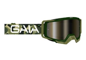 Oculos Motocross Trilha Velocross Gaia Mx Pro Army