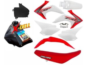 Kit Crf 230 2015 a 2020 Avtec Original Adaptável - XR 200 - XR 250 Tornado