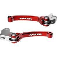 Kit Manetes Retráteis Anker Crf 230/crf 250f - Curto - vermelho