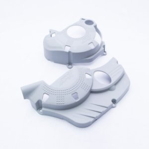Protetor Tampas Do Motor Crf250f Amx - Cinza