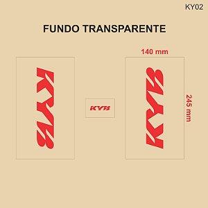 Adesivo de Suspensão KYB - KY02