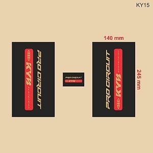 Adesivo de Suspensão KYB - KY15
