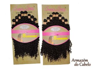 Cabelo Orgânico Cacheado - Super Star – Hair Collection - Brazuca