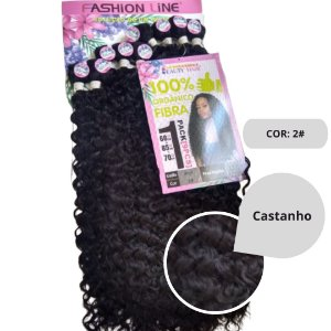 Fibra Orgânica Fashion Line Collection Beauty Hair - Anjo + Formosa