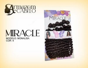 Cabelo Fibra Bio Vegetal Miracle Monalisa