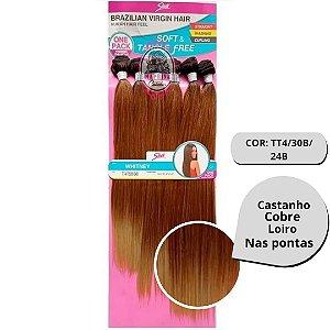 Cabelo Whitney Liso - Brasilian Virgin Hair