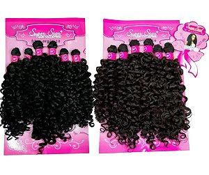 Cabelo Orgânico Cacheado - Super Star – Hair Collection - Docinho