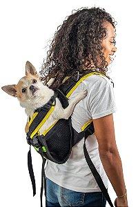 Mochila Yellow Pet Para Cachorro - Tamanho PP