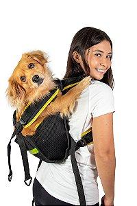 Mochila Yellow Pet Para Cachorro - Tamanho P