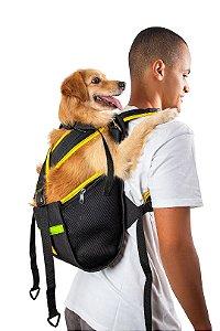Mochila Yellow Pet Para Cachorro - Tamanho M