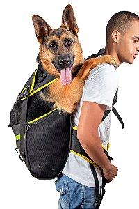 Mochila Yellow Pet Para Cachorro - Tamanho XG