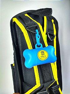 Porta-Saquinhos Higiênicos Azul Yellow Pet